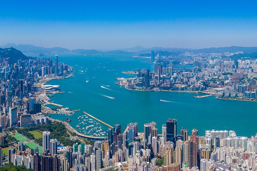 hong kong - Emplacements mondiaux